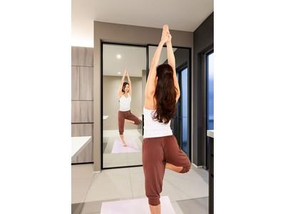 おうち女性が快適に過ごせる、全面ミラーの室内ドアを新開発