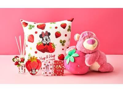 赤やピンクの春らしい色合いがキュートで爽やかなデザイン!いちごをモチーフにしたアイテムが12月29日(火)より順次発売