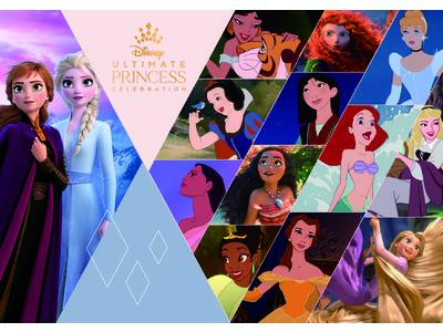 """""""勇気と優しさ""""をテーマにディズニーのグローバルな祭典が本日からスタート!Ultimate Princess Celebration(アルティメット・プリンセス・セレブレーション)"""