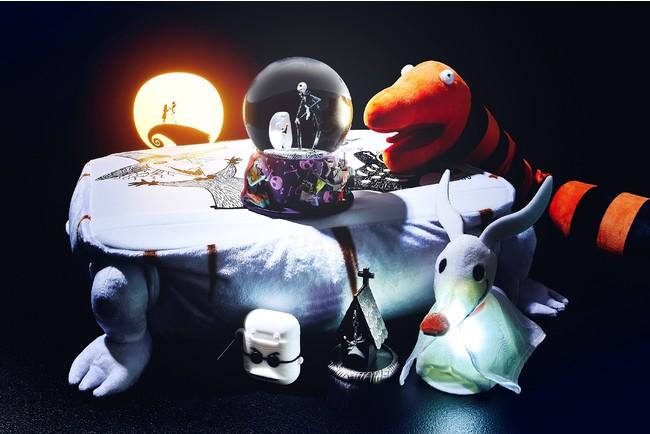 『ティム・バートン ナイトメアー・ビフォア・クリスマス』の世界観を表現したハロウィーンにぴったりのアイテムを10月3日(...