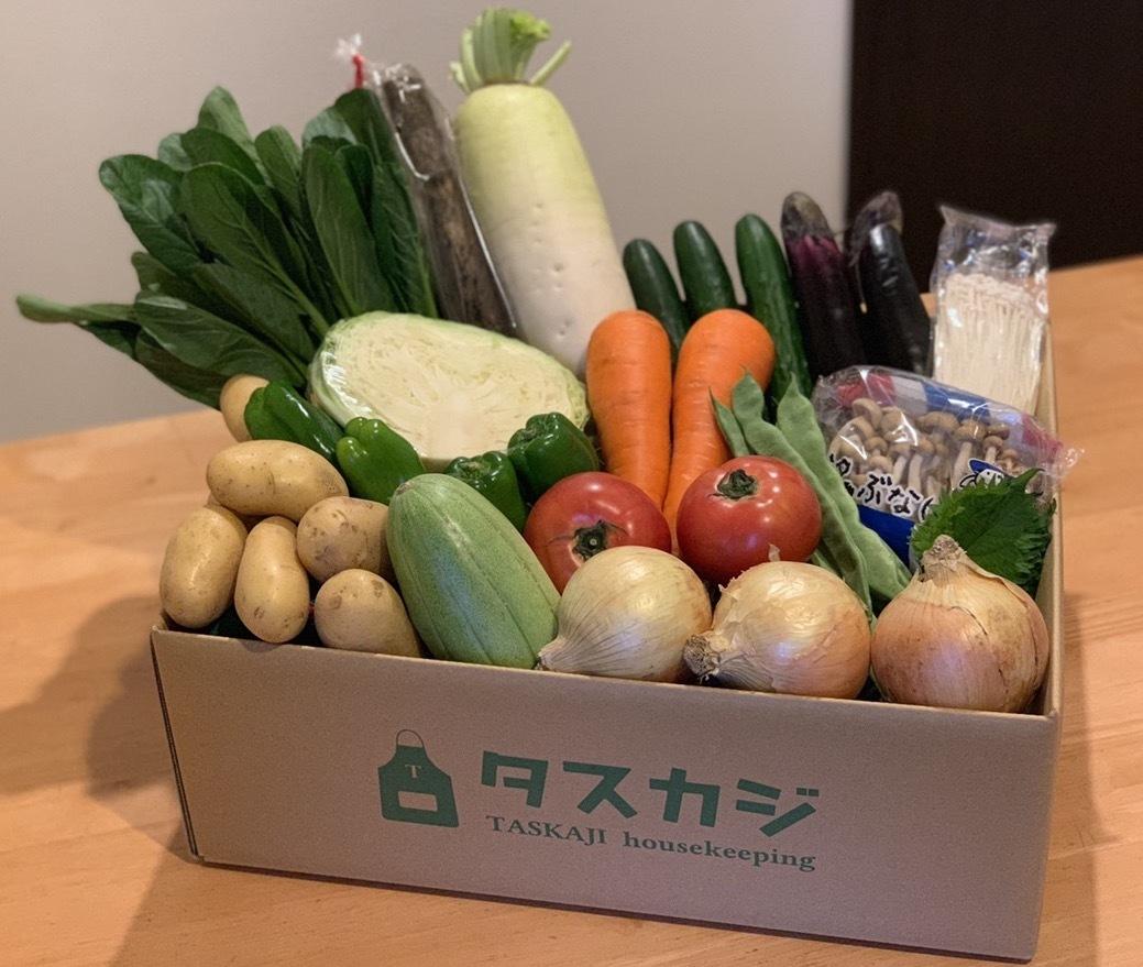 産地直送の「タスカジつくりおき便」のサービス開始!地域活性化をめざし佐賀の野菜・肉をセットに。 画像