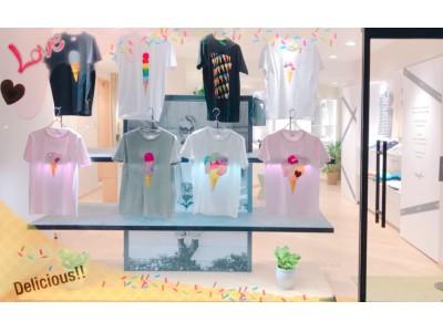 """この夏は Ice cream""""T""""を召し上がれ ♪【オリジナルTシャツ専門店が青山・骨董通りにオープン】"""