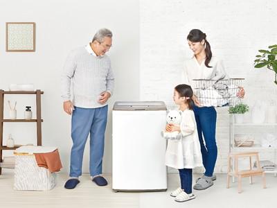 """~ハイアール、ユーザー目線の「あったら便利」を具現化~ クラスNo.1ローデザインとシンプル設計で""""使いやすさ""""を追求した7.5kg全自動洗濯機を11月6日より発売"""