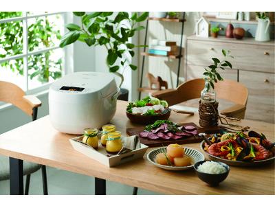 ~多彩な16種類のメニュー搭載で炊飯・調理の幅が広がる~ ハイアール、1台でおいしいごはんはもちろん、本格的な低温調理も楽しめる5.5合炊きマイコンジャー炊飯器を12月4日より発売