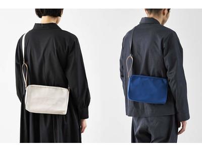 【倉敷帆布】異素材ミックスが新鮮!「JOBU」のショルダーポーチを発売します