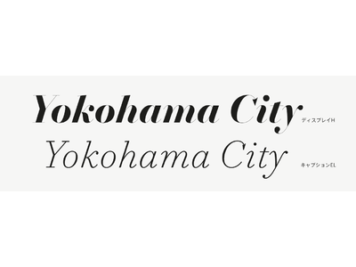 タイププロジェクト、都市フォントの「濱明朝」シリーズに欧文イタリック体「Hama Mincho Italic」を追加