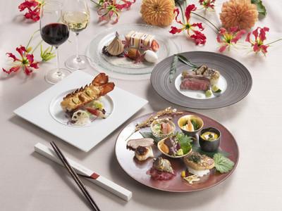 〈東京タワーの目の前の結婚式場The Place of Tokyo〉新生活様式に対応した全4皿婚礼料理フルコースを開発