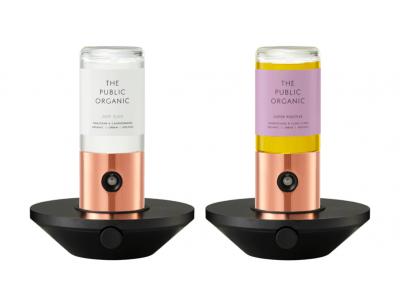 現代人のストレスを、「 精油 × テクノロジー 」で豊かに。ザ パブリック オーガニックで人気の香りがIoTディフューザーとして誕生!