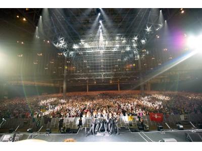 X JAPAN 33,000人ソールドアウトの日本公演 台風の影響で公演中止を発表!前代未聞の無観客ライブをYOSHIKI CHANNELにて全編緊急生中継決定
