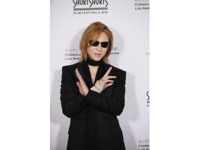 「ショートショート フィルムフェスティバル in ハリウッド」のレッドカーペットにYOSHIKI登場