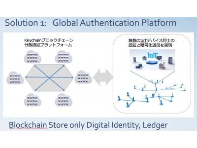 世界最小!!ブロックチェーンを使ったIoT認証セキュリティソフト Keychain実用化