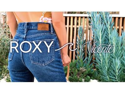 「ROXY」 × 「Vicente」コラボ商品 8月23日より発売
