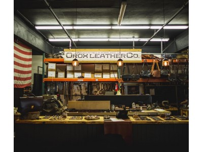 『Orox Leather Co.』阪神梅田本店にて開催の【ポートランドフェア】に出店決定