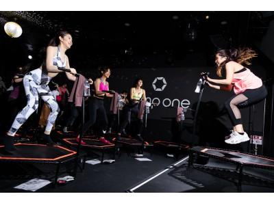 バチェラー出演女子と共に開発したモテ女子ボディメイクプログラム!トランポリンで恋愛勝者ボディ!くびれウエスト&美脚に。暗闇トランポリンjump one「Rj1 GirlsPop1」6/1(土)提供開始