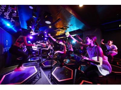"""暗闇トランポリンエクササイズ 「jump one」初となるLINE LIVE単独チャンネル誕生!!「jump one Stream """"LINK""""」4/18よりLINE LIVEにて特別レッスン開始"""