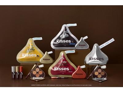 幸せほころぶ甘いフレーバー とろけるような濃厚ブラウン ETUDE × HERSHEY'S KISSES『キスチョコレートコレクション』 2021年2月1日 数量限定発売予定