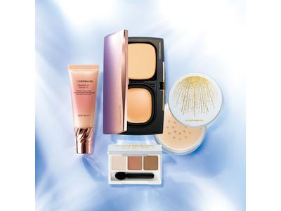 紫外線に負けない、崩れない!夏の美肌を作るカバーマーク最強(※1)ベースメイク3品に目もとや肌が上品に艶めく限定アイカラーが入ったサマーコフレ発売。