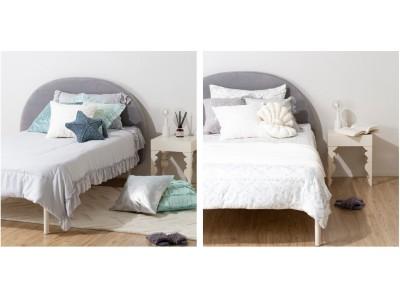 イエナカもイエソトも、おしゃれに暑さ対策。デザインと機能性にこだわった冷感寝具と日傘が登場