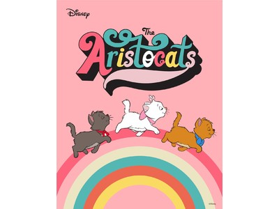 ディズニーアニメーション『The Aristocats(おしゃれキャット)』のオリジナルアイテムを2月22日より販売
