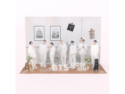 【神写真集と話題】写真集『BTS goes on!』JAPAN SPECIAL EDITION、世界唯一の特典「3Dステッカー」のビジュアルが決定!