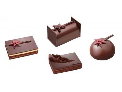 華やかなお祝いムードを盛り上げる、濃厚なカカオの味わいの「クリスマスケーキ コレクション」を販売