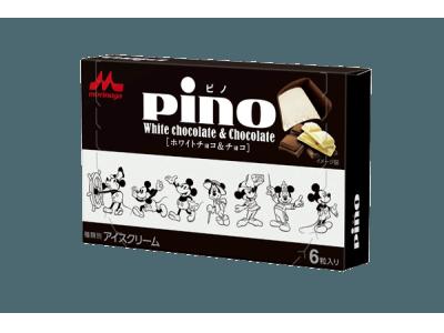 「ピノ ホワイトチョコ&チョコ(ディズニーデザインパッケージ)」12月3日(月)より全国にて数量限定発売