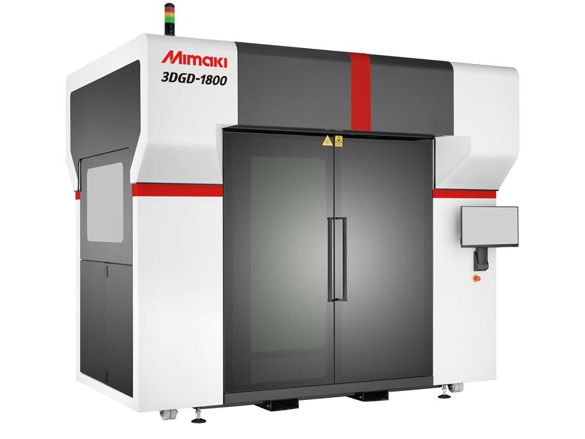 大型・高速造形でサイングラフィック製作が変わる! 3Dプリンタ 「3DGD-1800」 販売開始のお... 画像