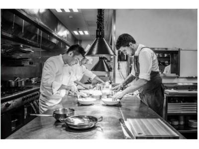 アマンのイタリア人シェフと日本人シェフによる夢の饗宴『-Four Hands- Chef Masakazu Hiraki x Chef Andrea Torre』を4日間限定開催。