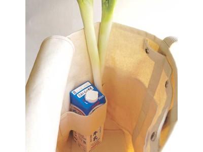 これはココ!定位置があるから気持ちよく収まる!お買い物専用仕切りトート「コンパートメントバッグ マルシェ」発売!