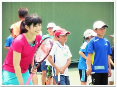 ITC靱(うつぼ)テニスセンター23周年記念イベント!元全日本女王 久見 香奈…