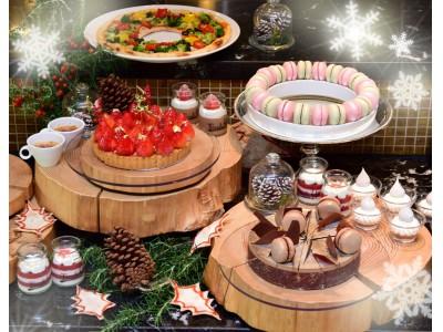 """【スイスホテル南海大阪】 """"キラキラクリスマス ~Glittering Christmas~""""がテーマのスイーツブッフェ開催"""