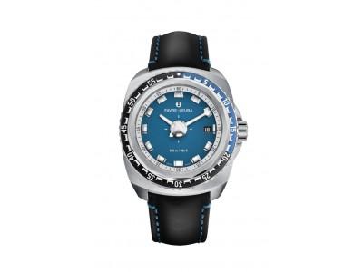 スイス高級時計ブランド「ファーブル・ルーバ」、レトロフューチャーデザインの機械式腕時計「レイダー・ディープブルー」新モデルを発表