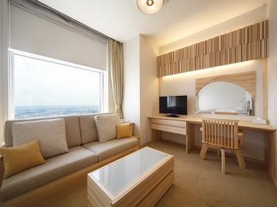 【ホテル日航新潟】地元住宅メーカー「夢ハウス」とのコラボレーションルーム完成!