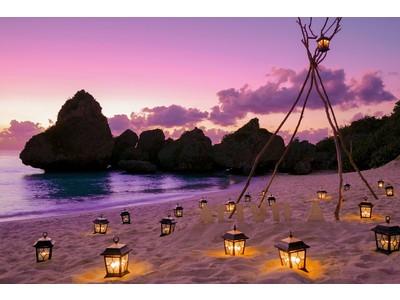 【ホテル日航アリビラ】ホテル目の前のニライビーチに写真スポット「#niraispot(ニライスポット)」を設置