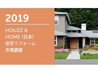 Houzz が「HOUZZ &  HOME 住宅リフォーム・リノベーション市場調査」の結果を発表