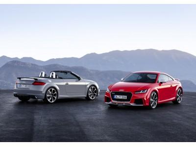 新型Audi TT RS Coupe / TT RS Roadsterを発売