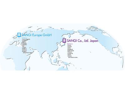 アパガード・アパデントなどを海外19ヶ国に展開!