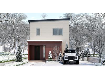 ジブンハウス、雪国暮らしを楽しむ住宅「Concept White HD」販売