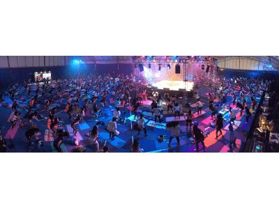 日本初上陸のフィットネス・フェス、1000人超の参加者を集め盛大に開催!