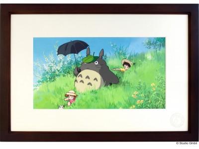 「となりのトトロ」公開30周年記念商品、複製セル画「Cel Art Print From Studio Ghibli となりのトトロ」6月1日(金)よりオンラインショップそらのうえ店にて受注予約開始