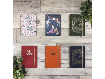 「ムーミンなくらし」を提案するムーミンショップより人気の「HININE NOTE」とのコラボ手帳が初登場!8月9日(金)よりムーミンショップなどで発売