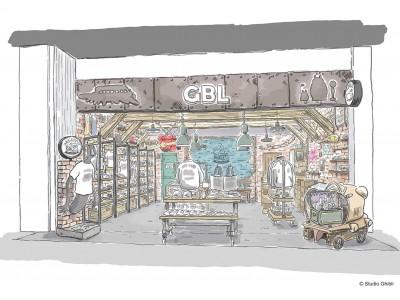 スタジオジブリファンのための大人向けアメカジブランド『GBL』待望の常設店舗一号店がオープン決定!話題の新商業施設MIYASHITA PARKにて