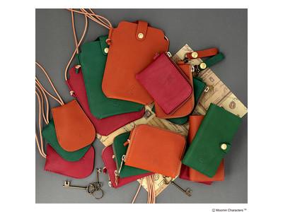 「ムーミンなくらし」を提案する「MOOMIN SHOP」本革ブランド『kissora(キソラ)』とコラボレーションした革雑貨シリーズを2020年11月13日(金)より販売中