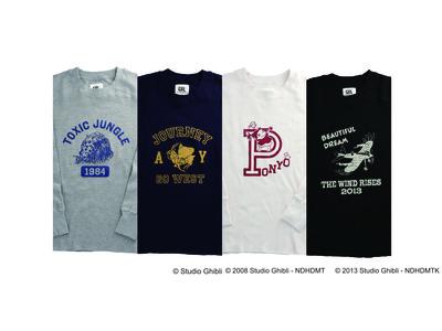 スタジオジブリ作品の大人のアメカジブランド『GBL』よりアウトドアシーンにも重宝する保温性に優れたアメカジの定番、サーマルロングスリーブTシャツが2021年1月下旬より販売!