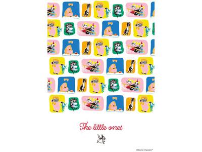 """「ムーミンショップ」と「ムーミンカフェ」「ムーミンスタンド」にてムーミン谷に住まう小さな生き物たちが主役の""""The little ones""""フェアが2021年10月8日(金)よりスタート!"""