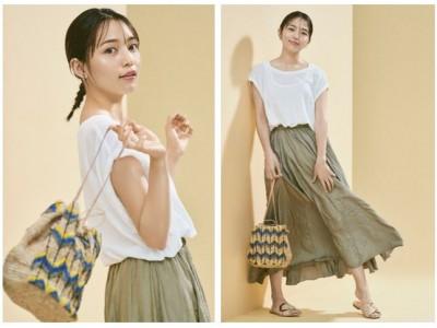Qoo10特集 「June Style with川口春奈」OPEN「LADY FOR SUMMER. さあ、夏の準備。」