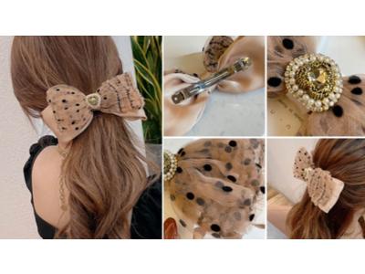【Qoo10 Fashion Trend Report #3 ヘアアクセサリー】 ビッグサイズが可愛い(ハート) 大きめのヘアアクセサリーが今年のトレンド!