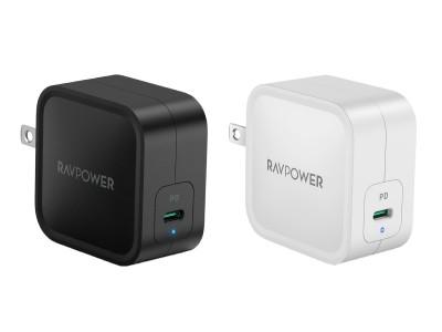 "【RAVPower】発売後即ベストセラー獲得&完売となった最小クラスの61W窒化ガリウム採用USB-C急速充電器""RP-PC112""が本日より再販開始、期間限定セールも開催"