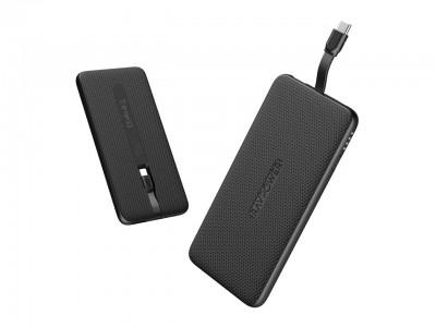 "【RAVPower】スマートフォンの充電に特化!外出先で一番使いやすいモバイルバッテリーを目指したケーブル内蔵型モバイルバッテリー""USB Type-C シリーズ""2モデル発売"