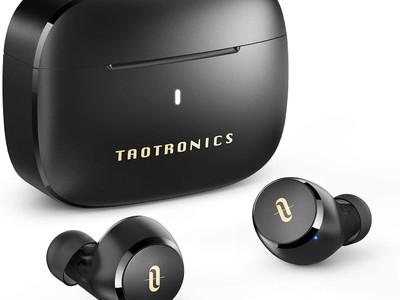【TaoTronics】低価格、コンパクト。9時間の長い再生時間と高いパフォーマンスを誇る完全ワイヤレスイヤホン